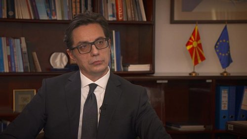 The President of North Macedonia calls for more EU presence in the Balkans
