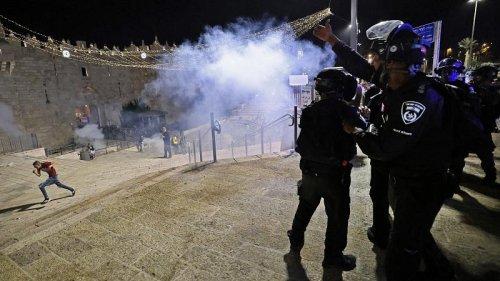 Stun grenades fired at Palestinians inside Al-Aqsa