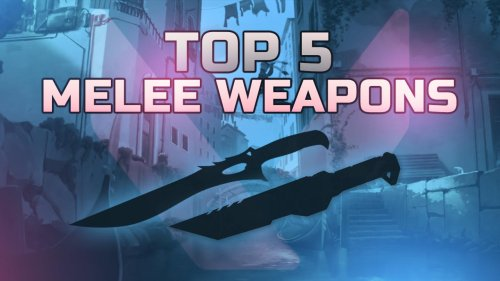 Check out the TOP 5 melee weapons in Valorant!