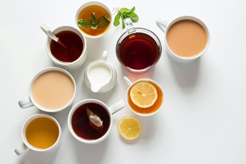 7 BEST TYPES OF TEA