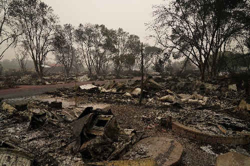 Officials battle online misinformation along with wildfires