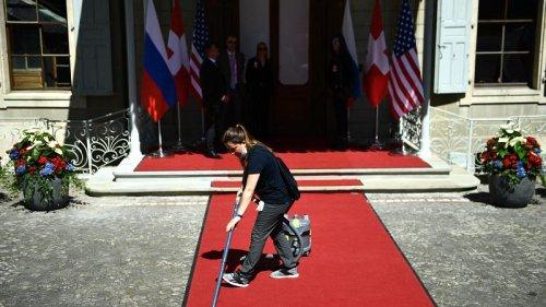 Security, empty streets ahead of Geneva summit