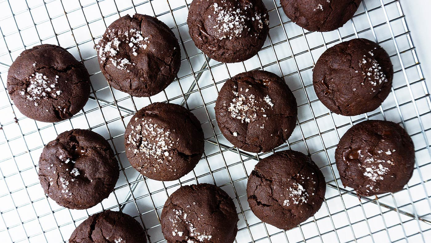 These Salted Chocolate Cookies Will Blow You Away
