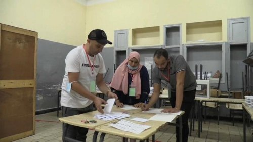 Algeria election: Turn-out low after opposition calls for a boycott