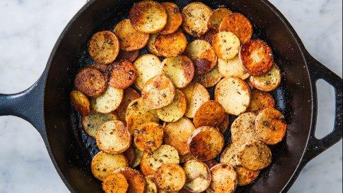How To Make Perfect Pan-Fried Potatoes