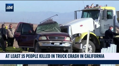More than a dozen killed in California crash