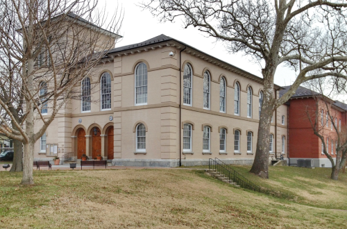 The courthouse in Dorchester County, MD where enslaved African Americans were auctioned, tried or jailed.