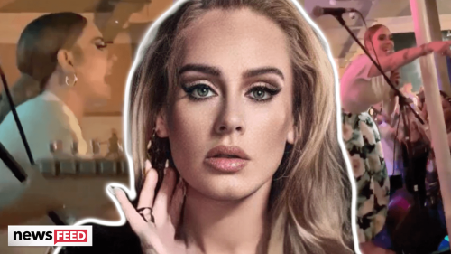 Adele's New Album Dropping VERY SOON Amid Rare Appearance!