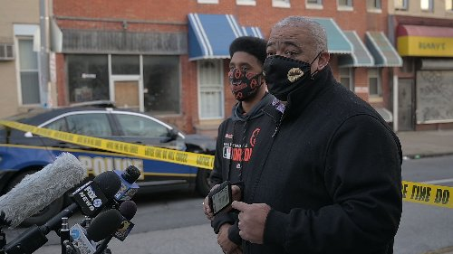 Commissioner Harrison gives an update on Saturday's shooting in West Baltimore | VIDEO