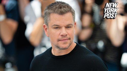 Internet sleuths say they discovered Matt Damon's 'secret' Instagram