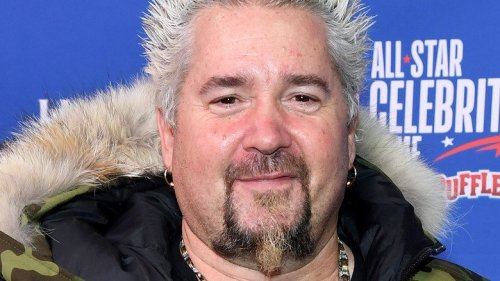 Guy Fieri Fans Love This Look-A-Like Photo From His Son's School Celebrity Day