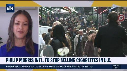 Philip Morris Intl. to Stop Selling Cigarettes in U.K.