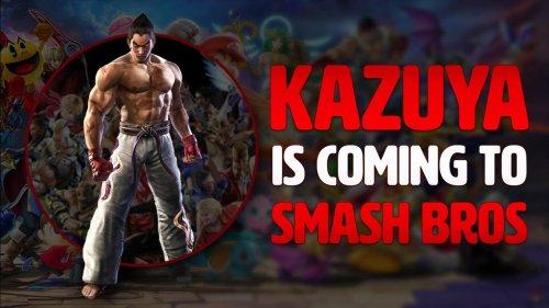 Kazuya is coming to Smash Bros! So GET READY!