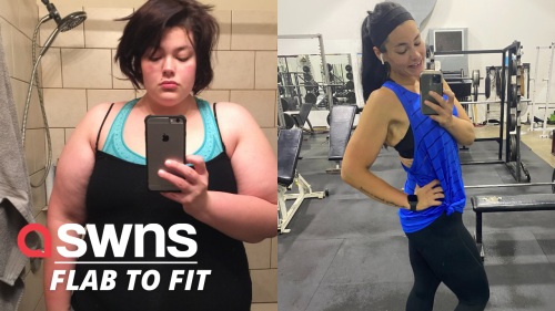 Woman who weighed over 350 pounds is now a fitness influencer (RAW)