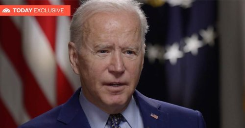 TODAY exclusive: President Biden talks the pandemic, race, 100 days in office
