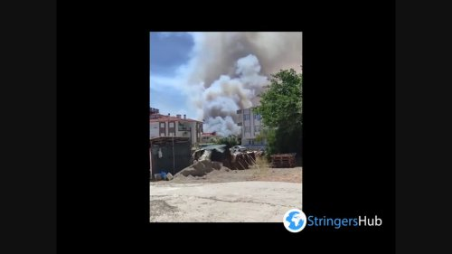 Turkey: Forest Fires In Residential Areas In Manavgat, Antalya