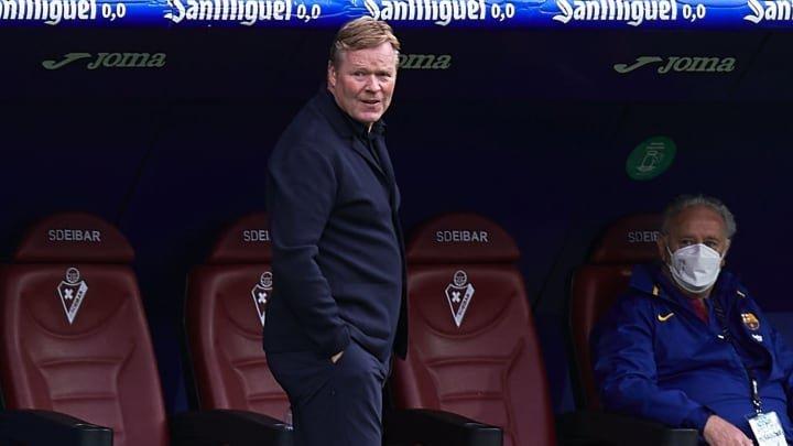 Ronald Koeman to remain Barcelona manager