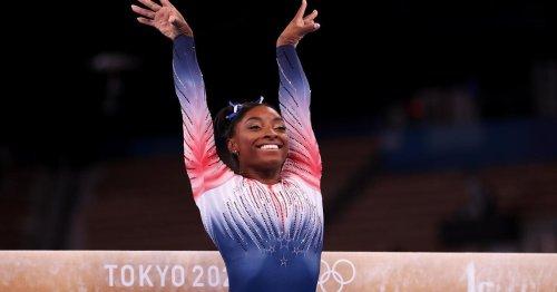 Simone Biles wins bronze in balance beam in Tokyo Olympic return