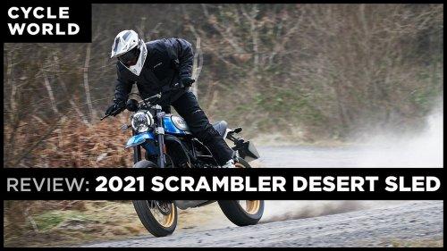 2021 Ducati Desert Sled Review