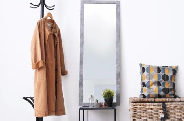 This Full-Length Mirror Hack Is Perfect For Storage