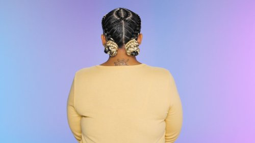 Two Stitch Buns | Cosmo's The Braid Up
