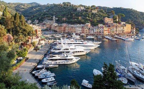 Visiting Portofino on the Italian Riviera!