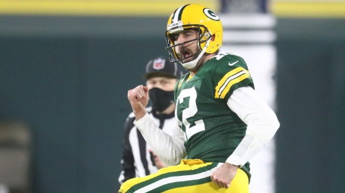 Aaron Rodgers, Packers' Offense Dominate Rams 32-18 to Advance to NFC Championship Game