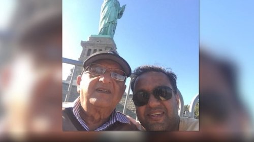 New Jersey man stuck in India after traveling to care for sick father