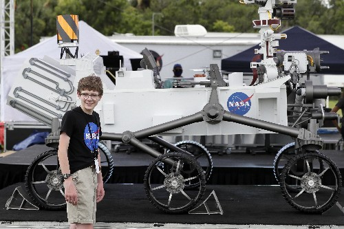 'On our way to Mars': NASA rover will look for signs of life