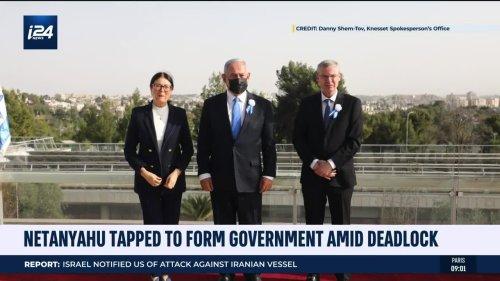Netanyahu Tapped to Form Gov't Amid Deadlock
