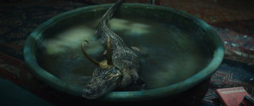 'Loki' Set Photo Reveals What They Used as the Stand-In for Alligator Loki