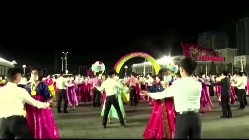 North Koreans celebrate state founder's birthday