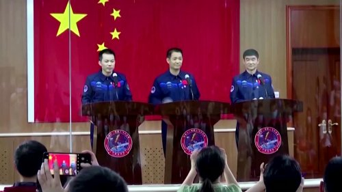 China preps its first crewed space launch in years