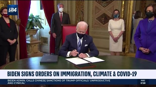 Biden Signs Orders on Immigration, Climate & COVID-19