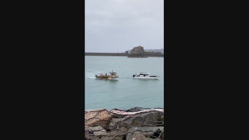 Boats Collide in Jersey Harbor Amid Post-Brexit Fishing Dispute