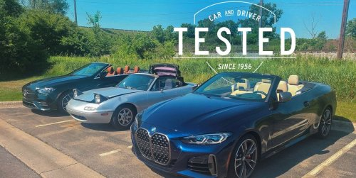 Here's what happened when we roasted convertibles in the sun to test the seats