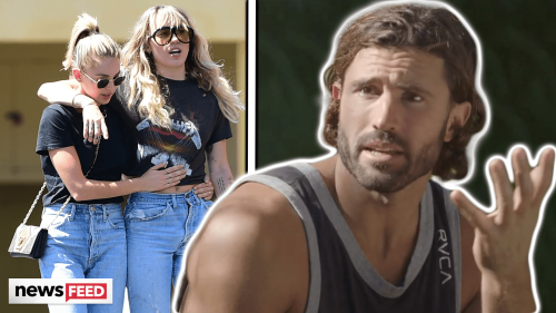 Miley Cyrus & Kaitlynn Carter's Romance Was 'GNARLY' To Brody Jenner!