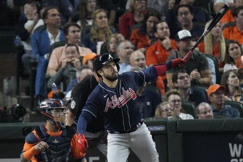 World Siri: Rookie propels Astros past Braves to tie Series