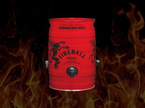 The 5-Litre Fireball Keg is Made for Bad Decisions