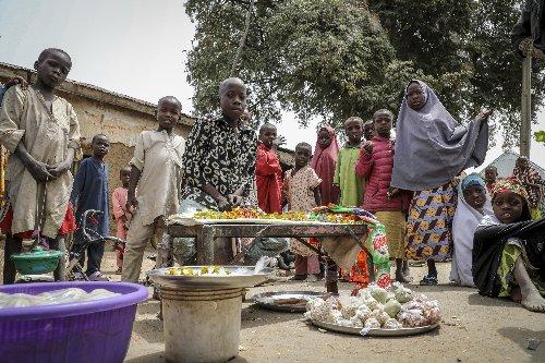 Nigerian families await news of 300 kidnapped schoolgirls
