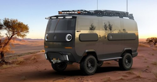THE EBUSSY MODULAR EV TRANSFORMS INTO 10 DIFFERENT VEHICLES