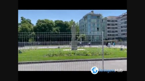 Arrival of the Presidents at the Geneva Summit in Switzerland 5