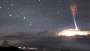 Two Sky Phenomena Captured in One Amazing Picture