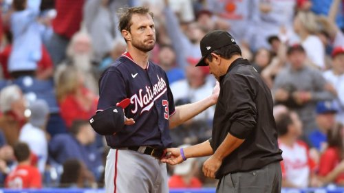 Umpire Sticky Substance Checks Are Off to a Weird Start