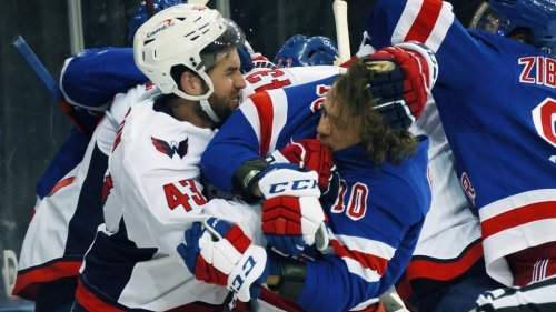 Rangers and Capitals Brawl in Revenge Game