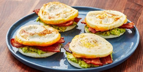 These No-Bun Breakfast Sandwich Are Perfect for The Laziest Morning