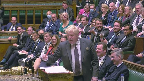 Leaders clash in 'panto' style Prime Minister's Questions