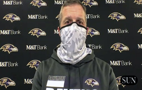 Ravens' Harbaugh on the 17-3 divisional-round loss to the Bills | VIDEO