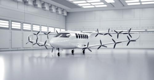 Craft Aero proposes a new type of 9-seat eVTOL