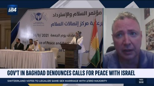 Iraqi government denounces calls for peace with Israel